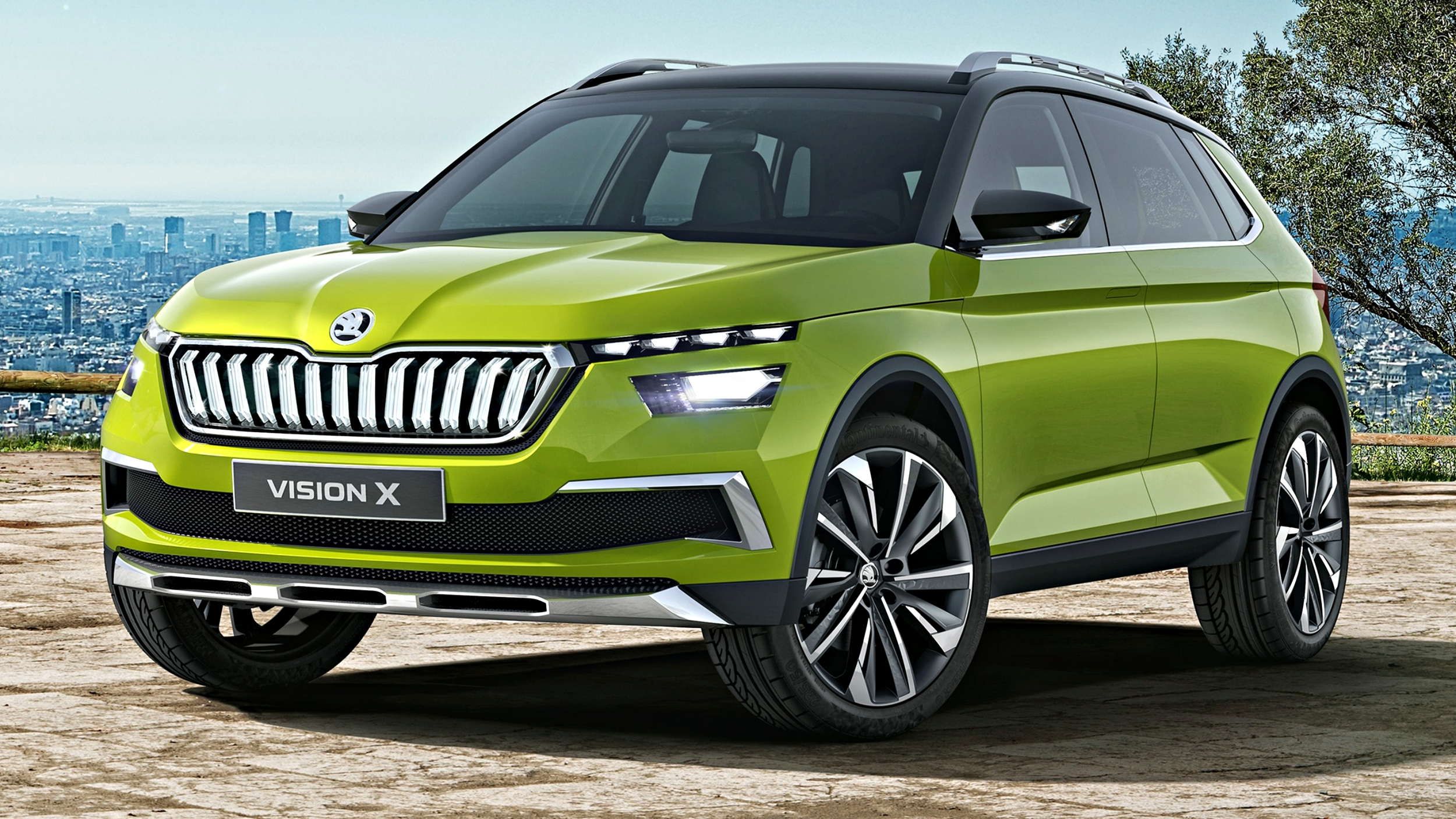 News - Skoda Vision X Concept Shows Off Impending Compact SUV