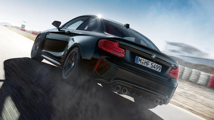 BMW M2 Goes Goth With Edition Black Shadow