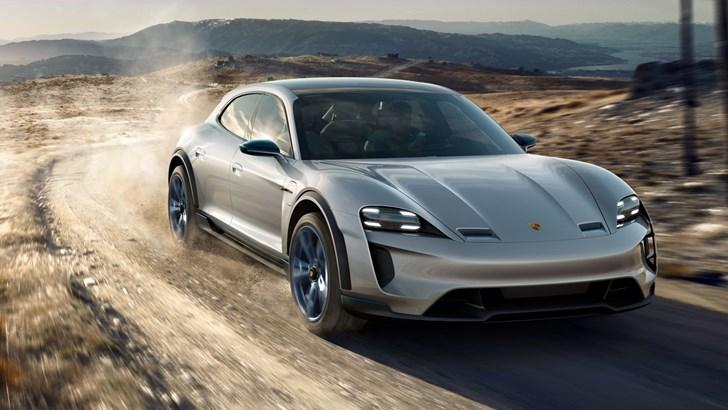2018 Porsche Mission E Cross Turismo - Concept