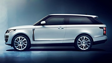 2019 Range Rover SV Coupe – Geneva Motor Show