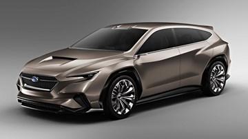 2018 Subaru Viziv Tourer Concept – Geneva Motor Show