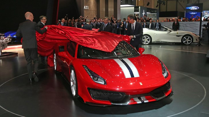 2018 Ferrari 488 Pista- Geneva Motor Show