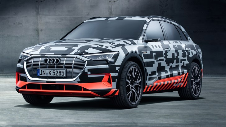 Audi e-tron Quattro In Geneva, On Verge Of Production