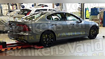 2019 Volvo S60 Leaked – Not An S90, Really