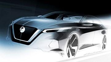 Nissan Altima Teased For New York Motorshow