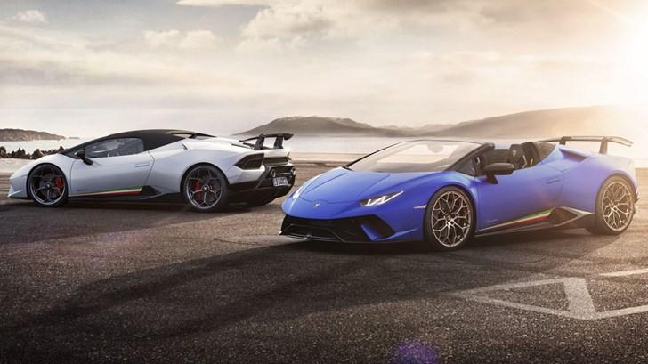 2018 Lamborghini Huracan Performante Spyder - Geneva Motor Show