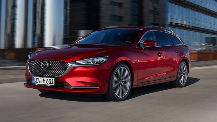 Tesla 2019 >> News - 2018 Mazda6 Wagon Makes Modest Debut In Geneva