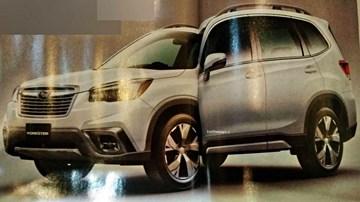 2019 Subaru Forester – Teasers & Leaks
