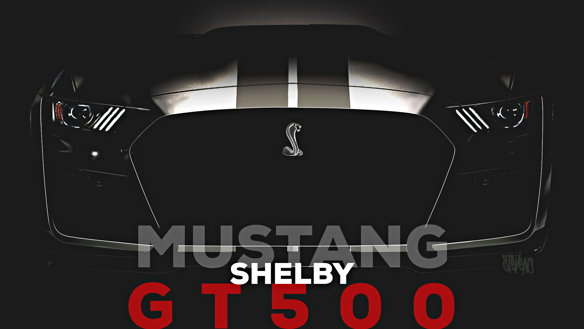 Ford Teases Mustang Shelby GT500