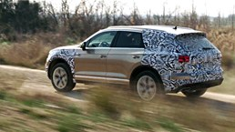 More Teasers Of The Volkswagen Touareg Drop - 02
