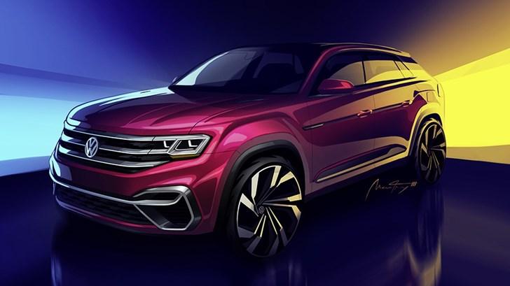 Volkswagen Teases Sportier 5-Seat Atlas For NYC Debut