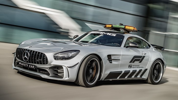 Mercedes-AMG GT R Breaks Cover As New F1 Safety Car