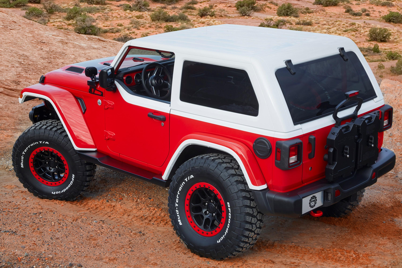 Jeep Reveals 7 Concept 4x4s Ahead Of Annual Easter Safari Thumbnail