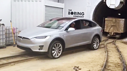 Tesla Model X Pulls Over 100-Tonnes Of Muck