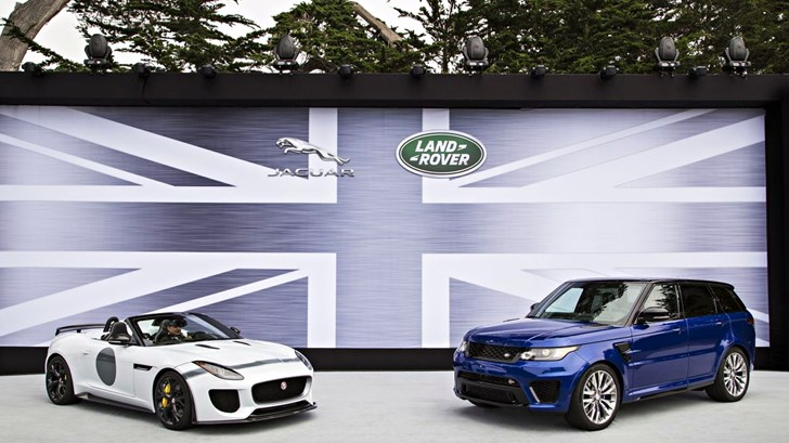 Jaguar-Land Rover Team Up With BlackBerry – Gallery