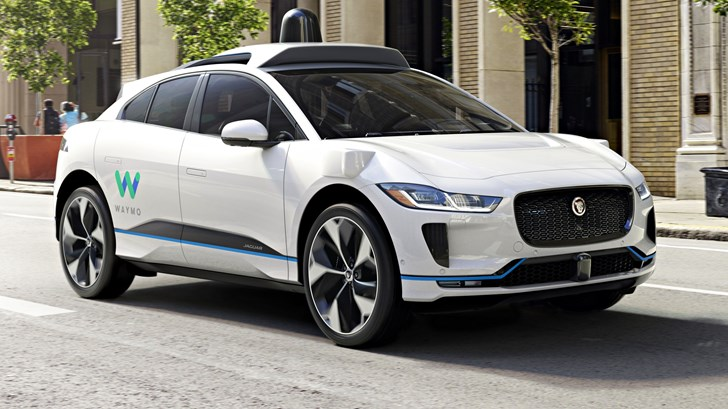 Waymo To Add Up To 20k Autonomous Jaguar I-Pace SUVs To Their Fleet