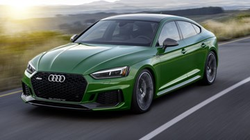 2019 Audi RS5 Sportback Breaks Cover In NYC
