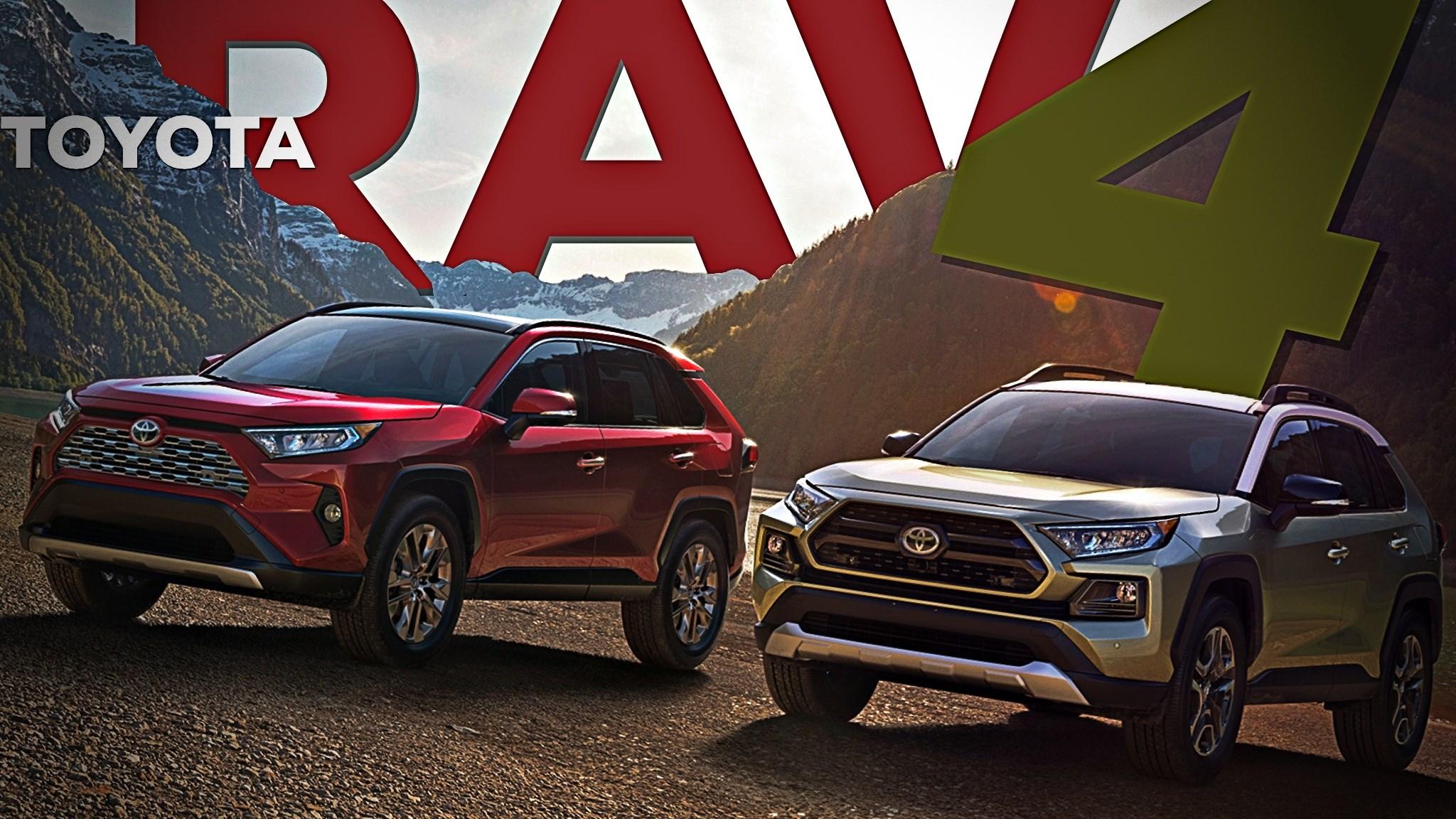 2019 Toyota RAV4 Revealed: A Proper SUV