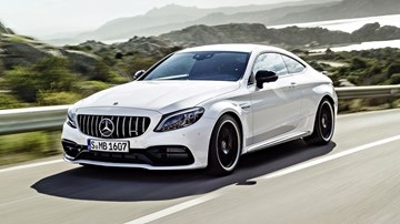 2018 Mercedes-AMG C 63 S Coupe