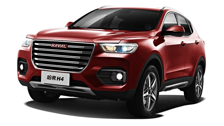 2018 Haval H4 – China