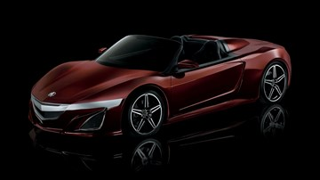 Honda NSX Roadster May Debut Within Year's End