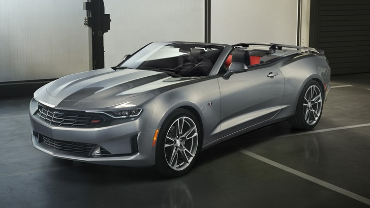 Chevrolet Updates Camaro For 2019 - New Face, More Tech
