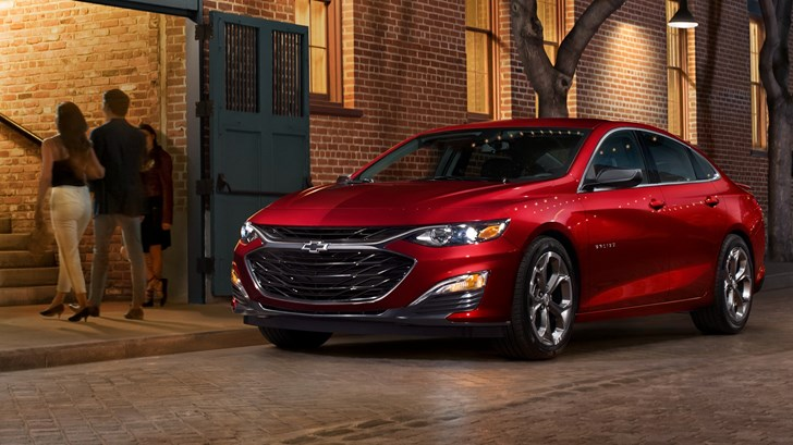 Chevrolet Facelifts The Malibu For 2019, Adds RS Trim