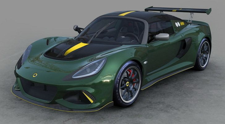 2018 Lotus Exige Cup Type 25