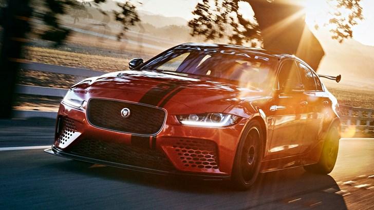 2018 Jaguar XE Project 8