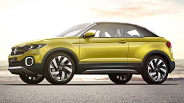 2016 Volkswagen T-Cross Breeze Concept – Geneva Motor Show