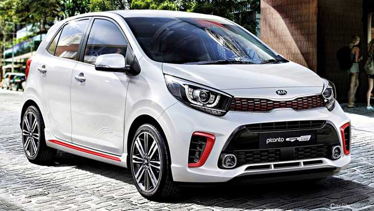 news 2018 kia picanto gt line is all show no more go. Black Bedroom Furniture Sets. Home Design Ideas