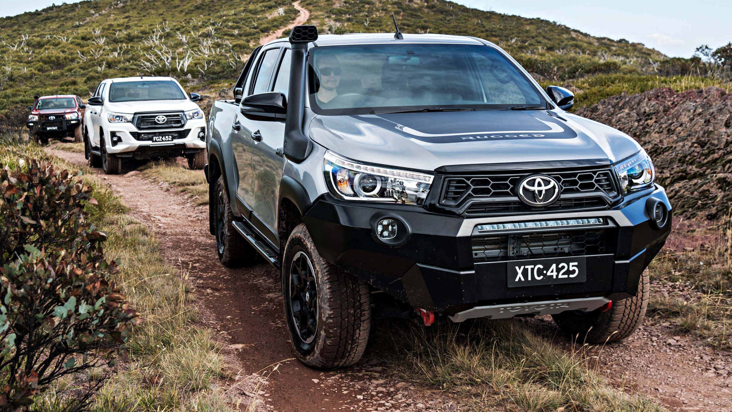 news 2018 toyota hilux rugged rogue rugged x from 55k. Black Bedroom Furniture Sets. Home Design Ideas