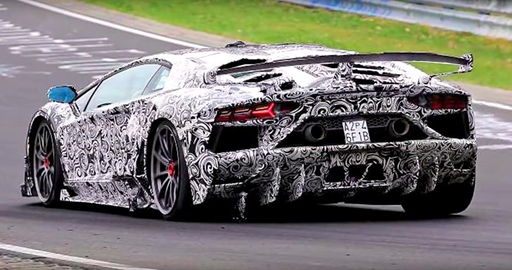 2020 Lamborghini SV Jota - Nurburgring Test