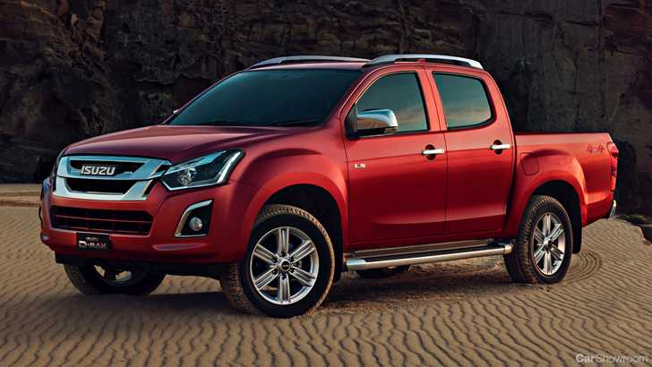 news isuzu ute revises d max mu x for 2018. Black Bedroom Furniture Sets. Home Design Ideas