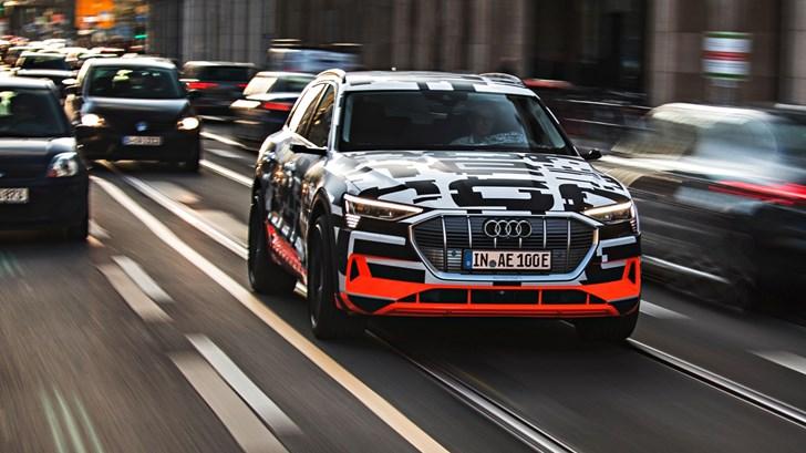 2018 Audi e-tron Prototype
