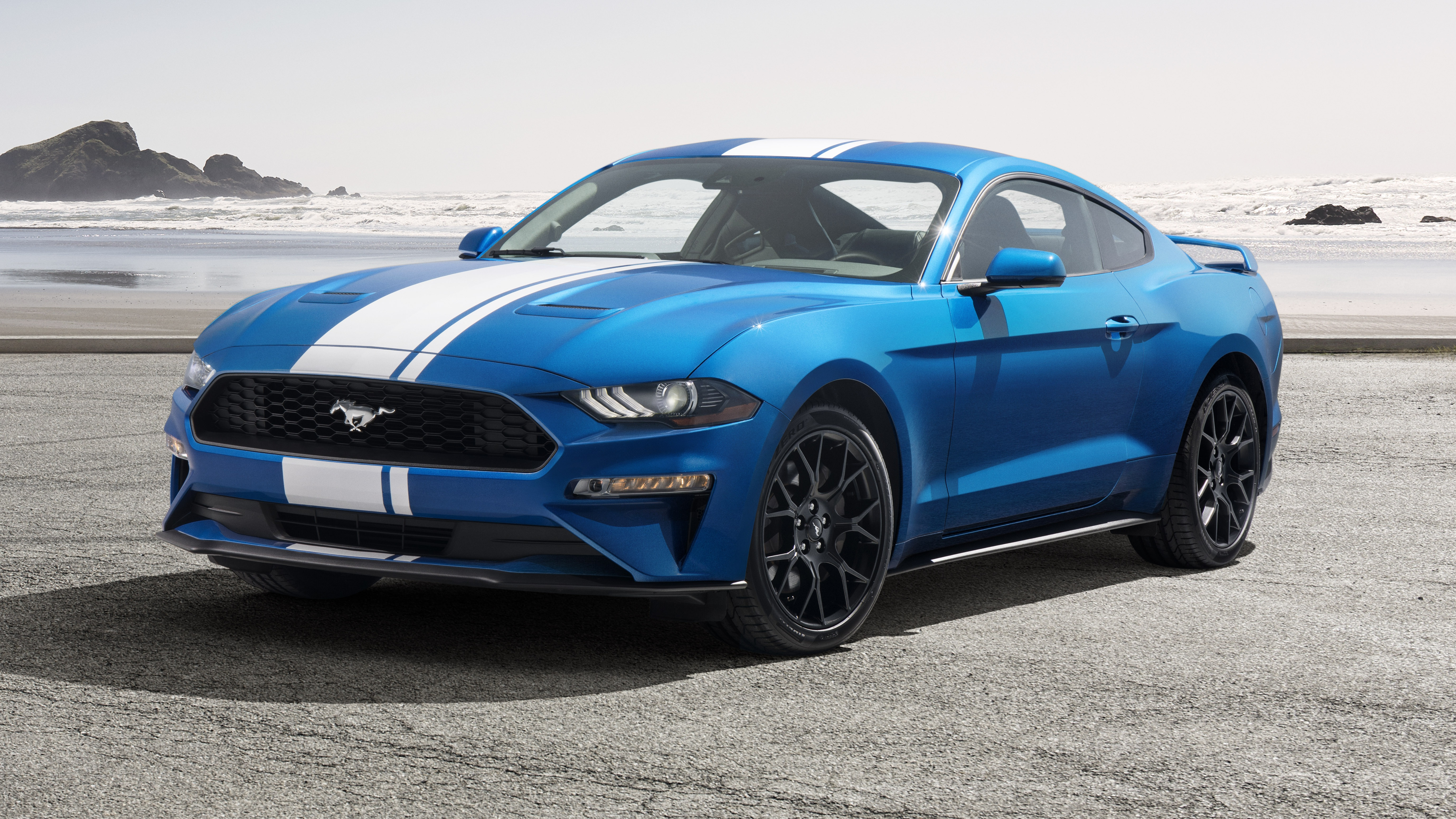 news ford gives active exhausts to 2019 mustang ecoboost. Black Bedroom Furniture Sets. Home Design Ideas