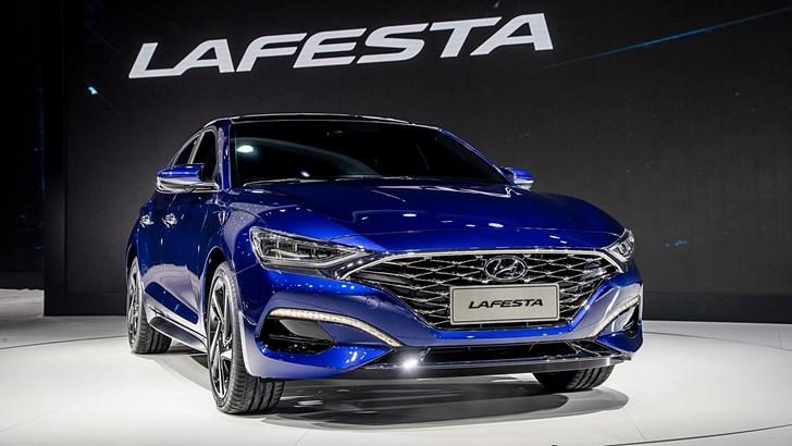 Hyundai Debuts Lafesta, Sporty Sedan Aimed At China's In Crowd