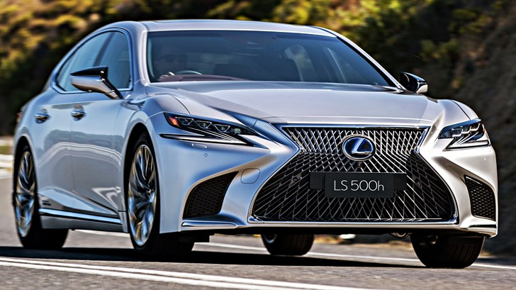 2018 Lexus LS500h Sports Luxury