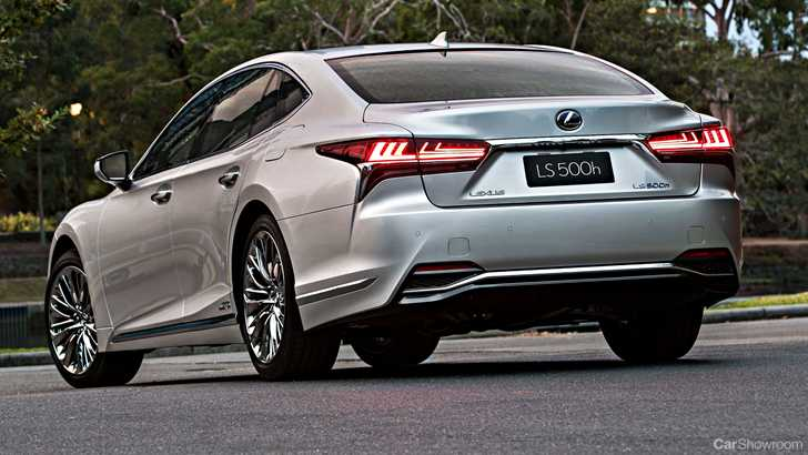 2018 Lexus Ls500h The Sophisticated Sedan For The Younger: 2018 Lexus LS