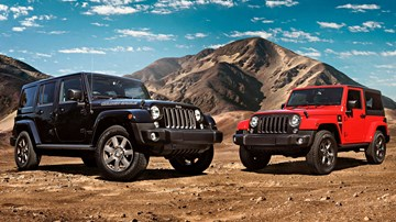 2018 Jeep Wrangler Sport – Golden Eagle, Freedom Editions