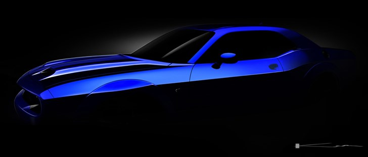 Dodge Drops First Teaser For 2019 Challenger Hellcat