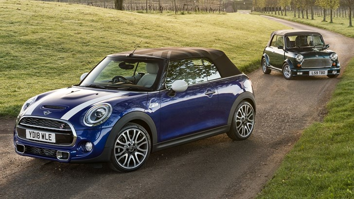 MINI Launches 25th Anniversary Edition Convertible
