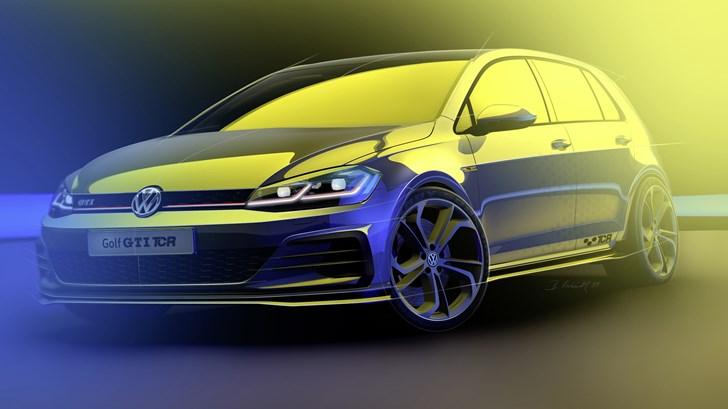 VW Teases Hardcore Production-Spec GTI TCR