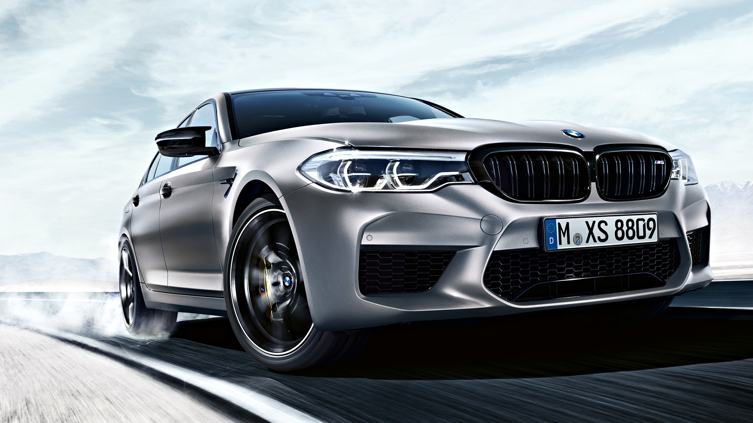 News Bmw M5 Competition Lands To Smoke Amg E63 S