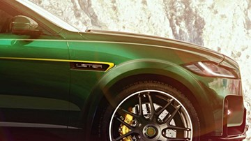 "Lister Teases ""World's Fastest SUV,"" Based On F-Pace SVR