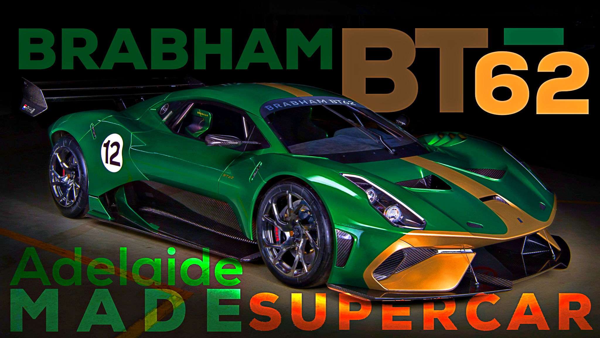Brabham BT62 Track-Monster Is So Very Aussie