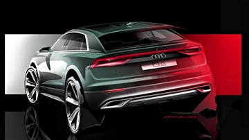 Audi Q8 Teased, And Given Its Own Web Miniseries
