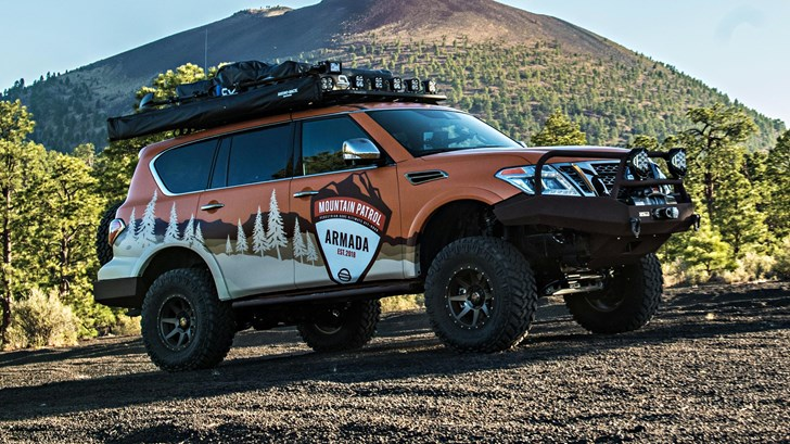 2018 Nissan Armada Mountain Patrol – Overland Expo (West)