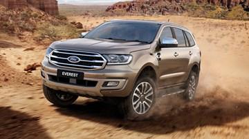 2019 Ford Everest Also Gets Raptor's Bi-Turbo Diesel