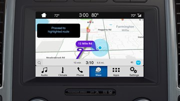 Waze Navigation Comes Directly To Ford's SYNC3